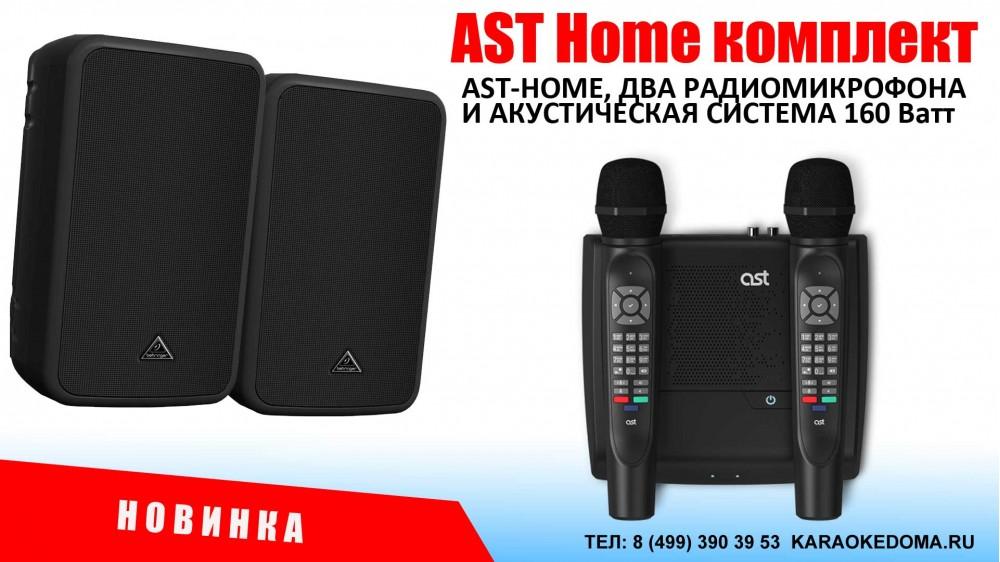 AST Home комплект для караоке 160 Ватт