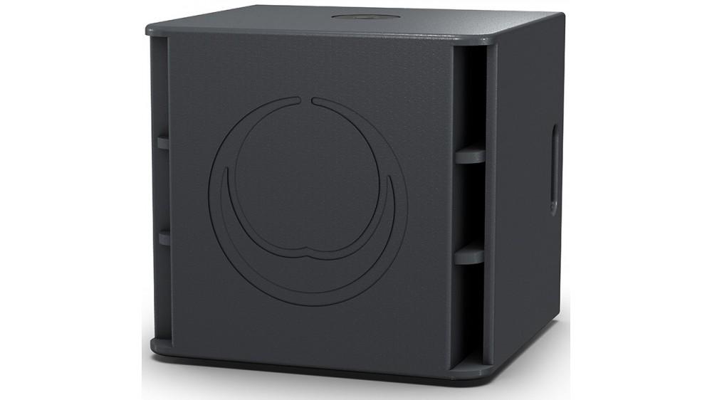 Turbosound Milan M15B активный сабвуфер, 15 дюймов, 2200Вт макс, 35–150Гц -10дБ, 134дБ SPL, берёзовая фанера, колёса, стакан 35 мм
