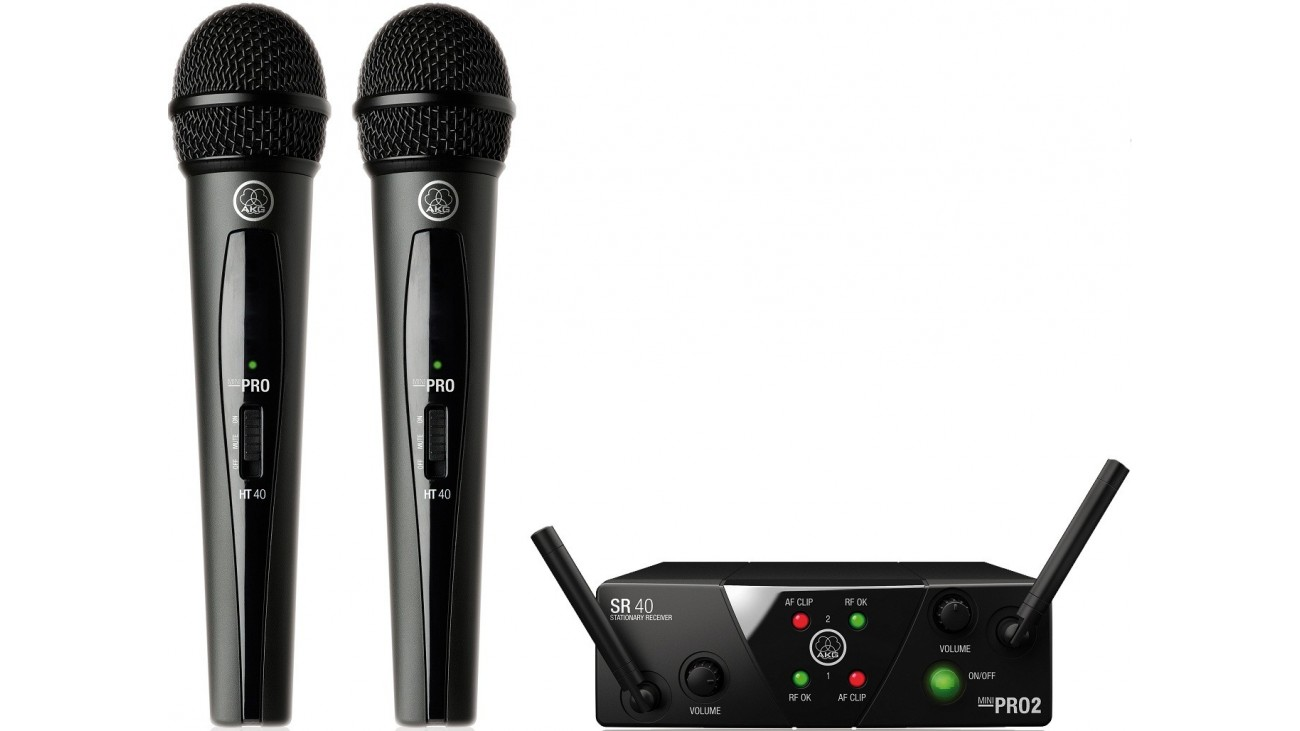 Радиосистема AKG WMS40 Mini2 Vocal Set