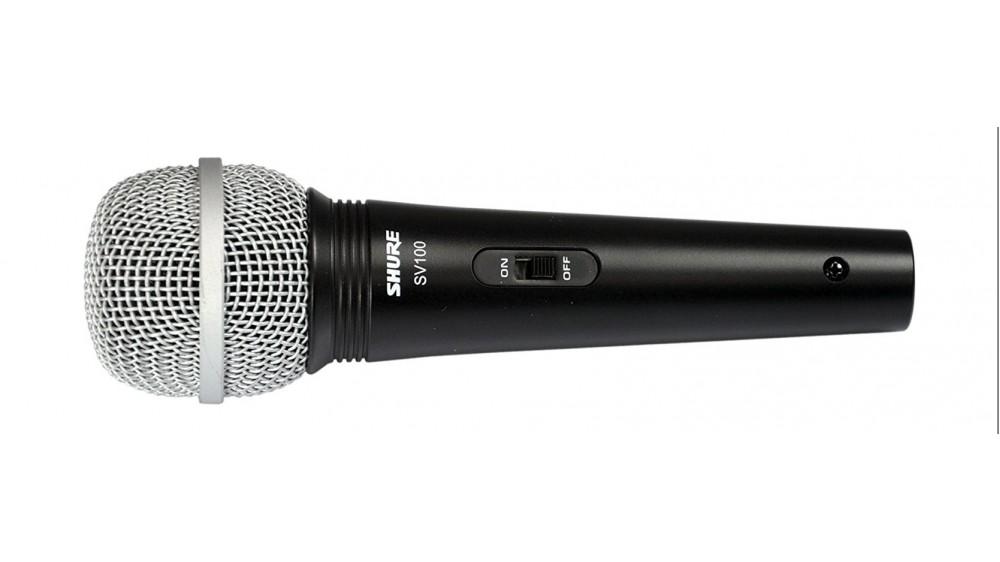 Микрофон вокальный SHURE SV100-A с проводом 4 метра